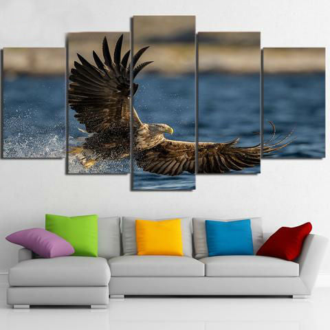 Sea Eagle 5 Piece Canvas