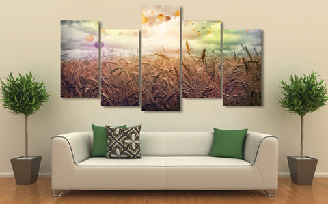 Rainbow Country 5 Piece Canvas
