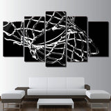 Basketball Net 5 Piece Canvas