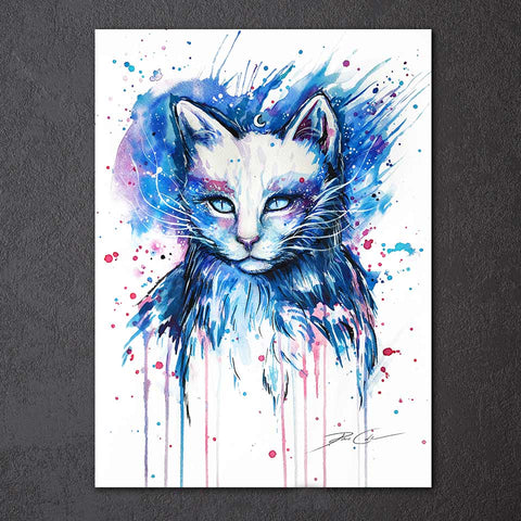 Cat by Pixie Cold Art 1 Piece Canvas