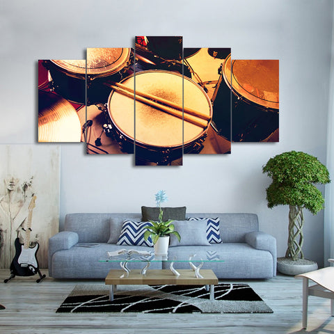 Drum Set 5 Piece Canvas