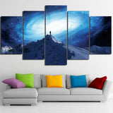 Lonely Mood 5 Piece Canvas