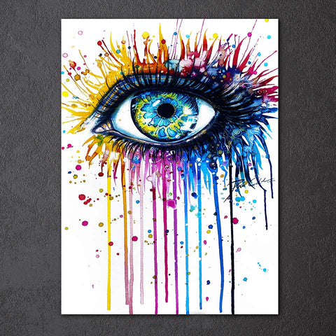 Beautiful Eyes by Pixie Cold Art 1 Piece Canvas