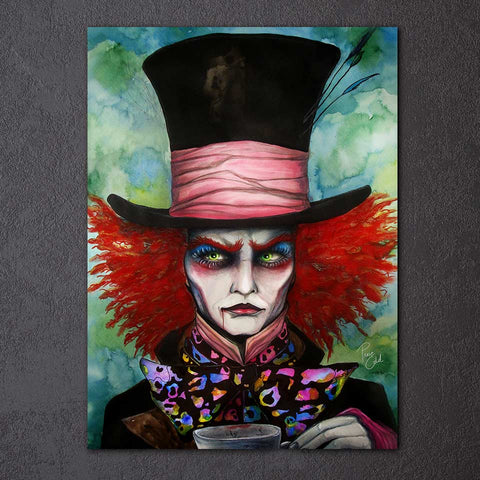 Mad Hatter by Pixie Cold Art 1 Piece Canvas