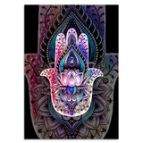 Hamsa By Brizbazaar 1 Piece Canvas