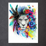 King of Animals by Pixie Cold Art 1 Piece Canvas
