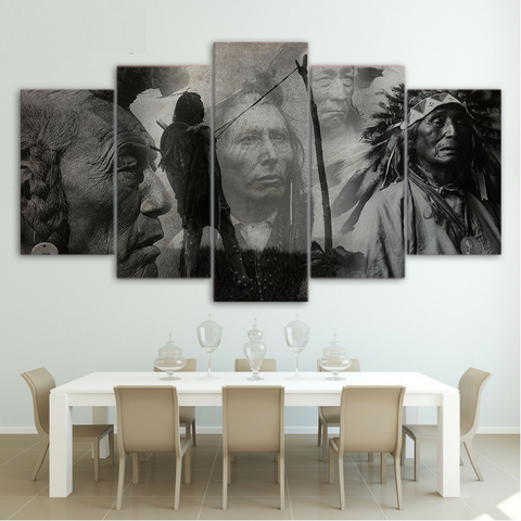 Native American 5 Piece Canvas