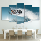 Ski Doo Freeride 5 Pieces Canvas