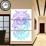 Wolves Heart by Sunima-MysteryArt 3 Piece Canvas