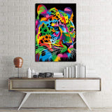Fast and Focused Cheetah by Weer 1 Piece Canvas