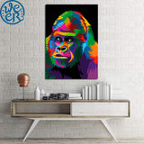 King of the Apes by Weer 1 Piece Canvas