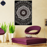 Mandala By Brizbazaar 1 Piece Canvas