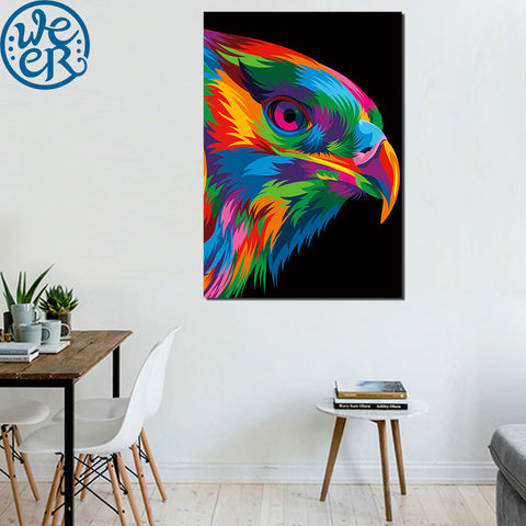 Winds of Freedom by Weer 1 Piece Canvas
