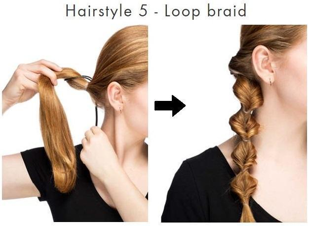 Hairloop Set Professionelle Frisuren In Rekordzeit Happylando