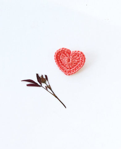 Big Heart Brooch