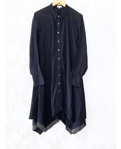 Asymmetrical Kurta Shirt