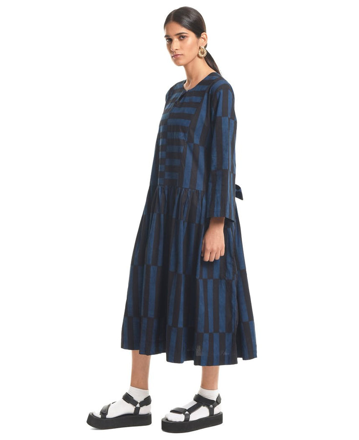 Displaced Tiered Dress