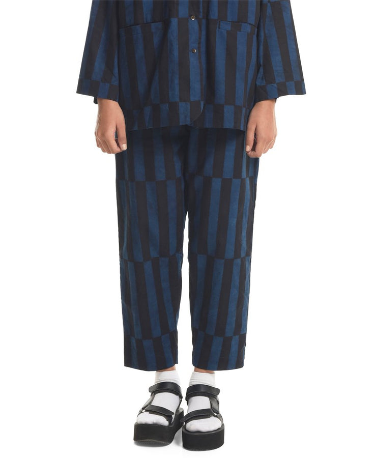 Displaced Stripe Pants