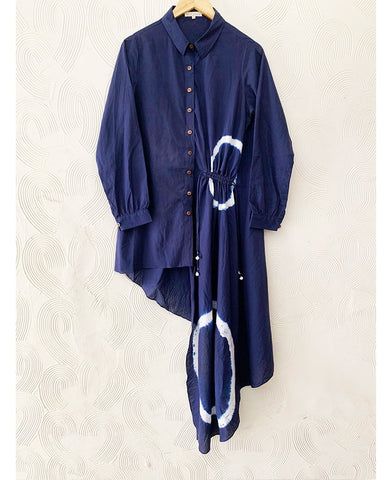 Shibori Shirt Dress