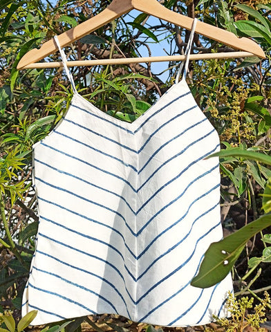 Chevron Cami Top