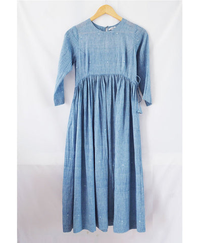 Gathered Waist Dress
