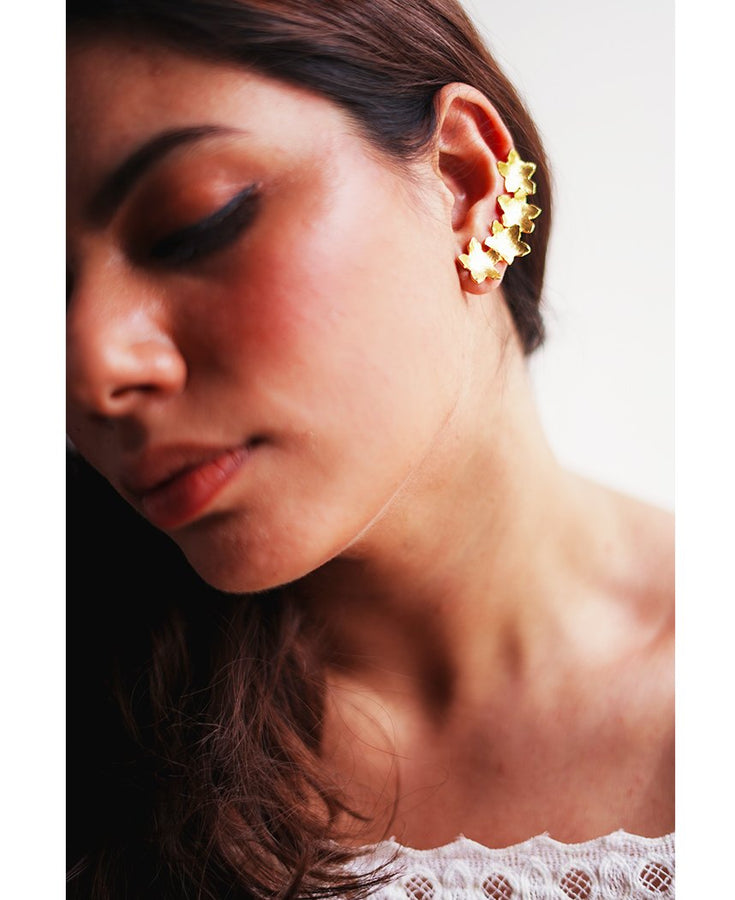 Mogra Cuff Earrings