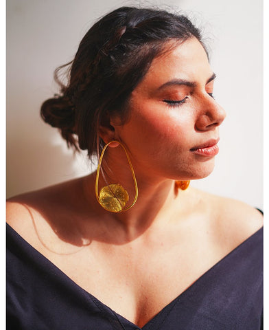 Mogra Drop Earrings