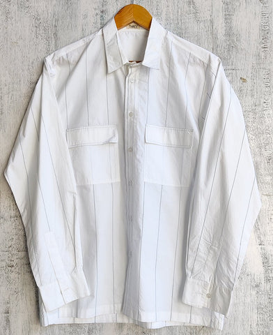 Linear Embroidered Shirt