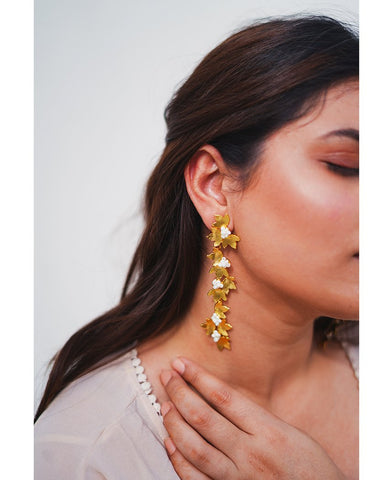 Petal Dangler Earrings