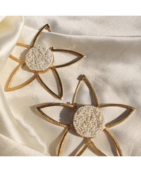 Mogra Frame Earrings