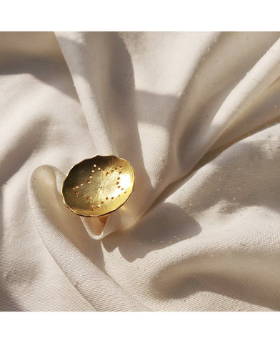 Mogra Gold Ring