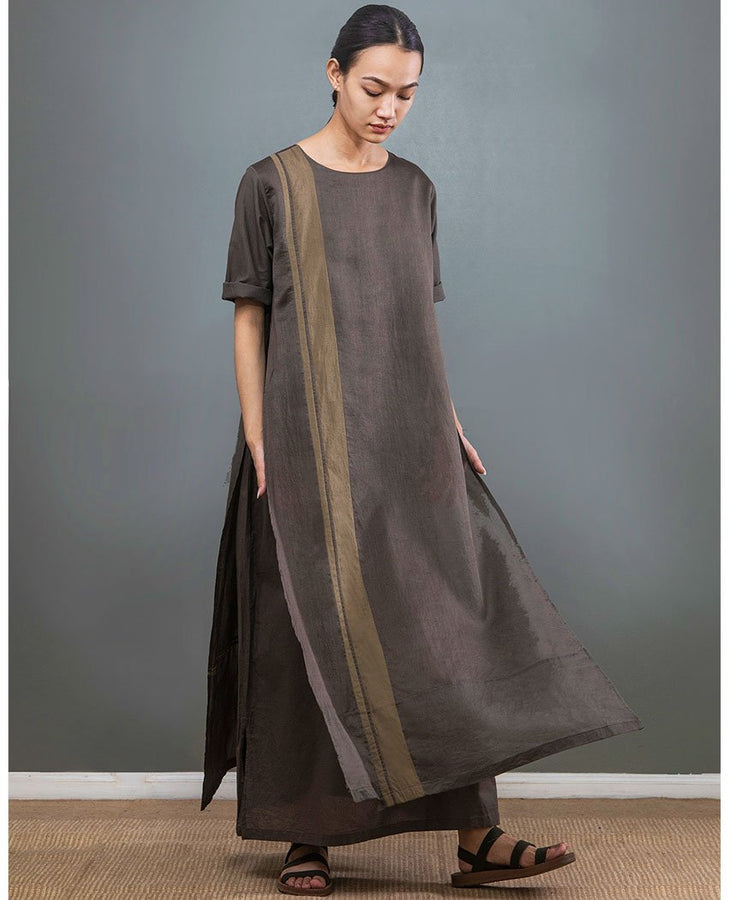 Olive Double Layer Dress