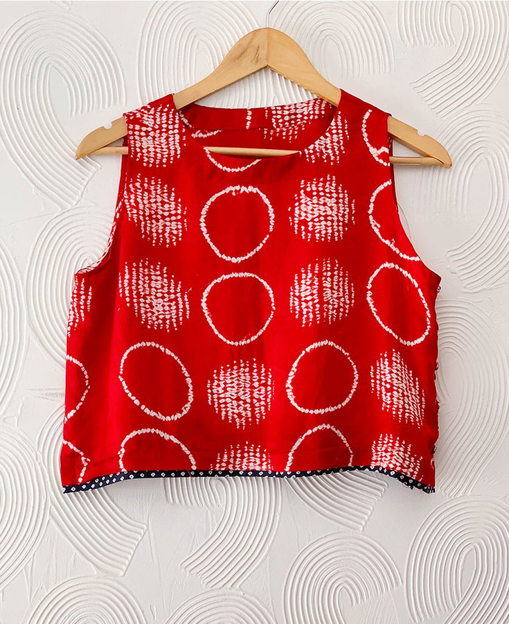 Shibori Summer Top
