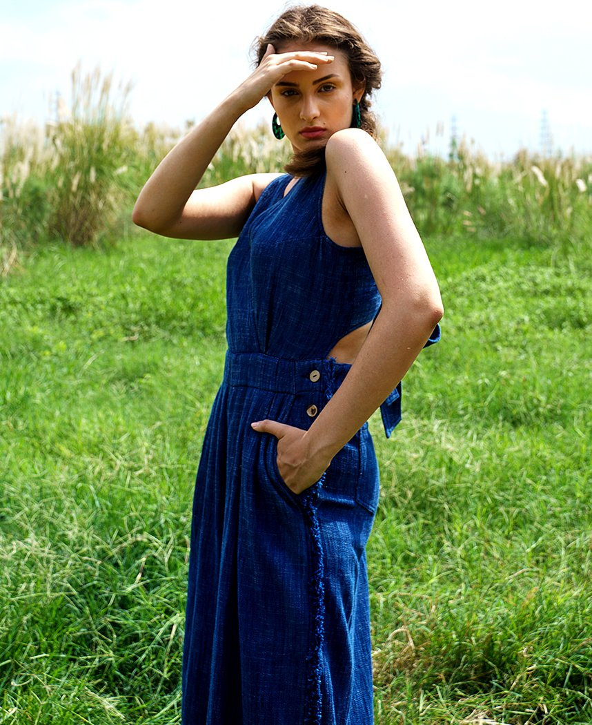 Roza Denim Jumpsuit