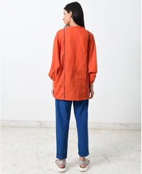 Rust Oversized Shirt