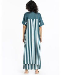 Teal Stripe Set
