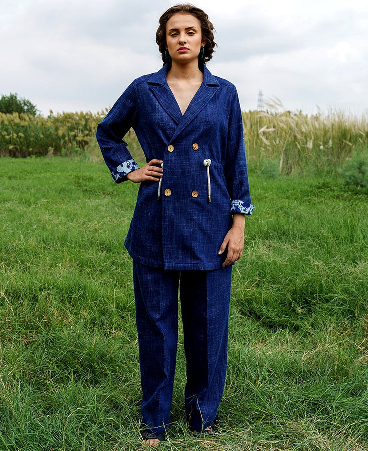 Savanna Denim Pantsuit