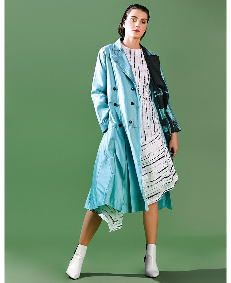 Seafoam Trench Set