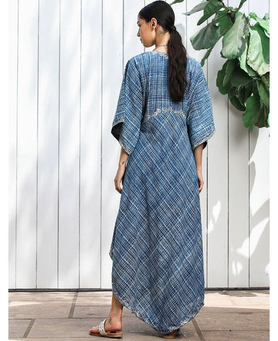 Asymmetrical Kaftan Dress
