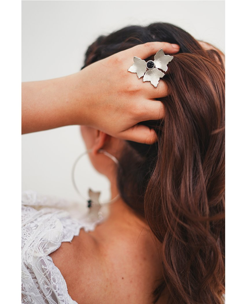Three Petal Ring