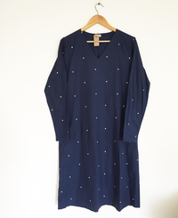 Polka Shift Dress