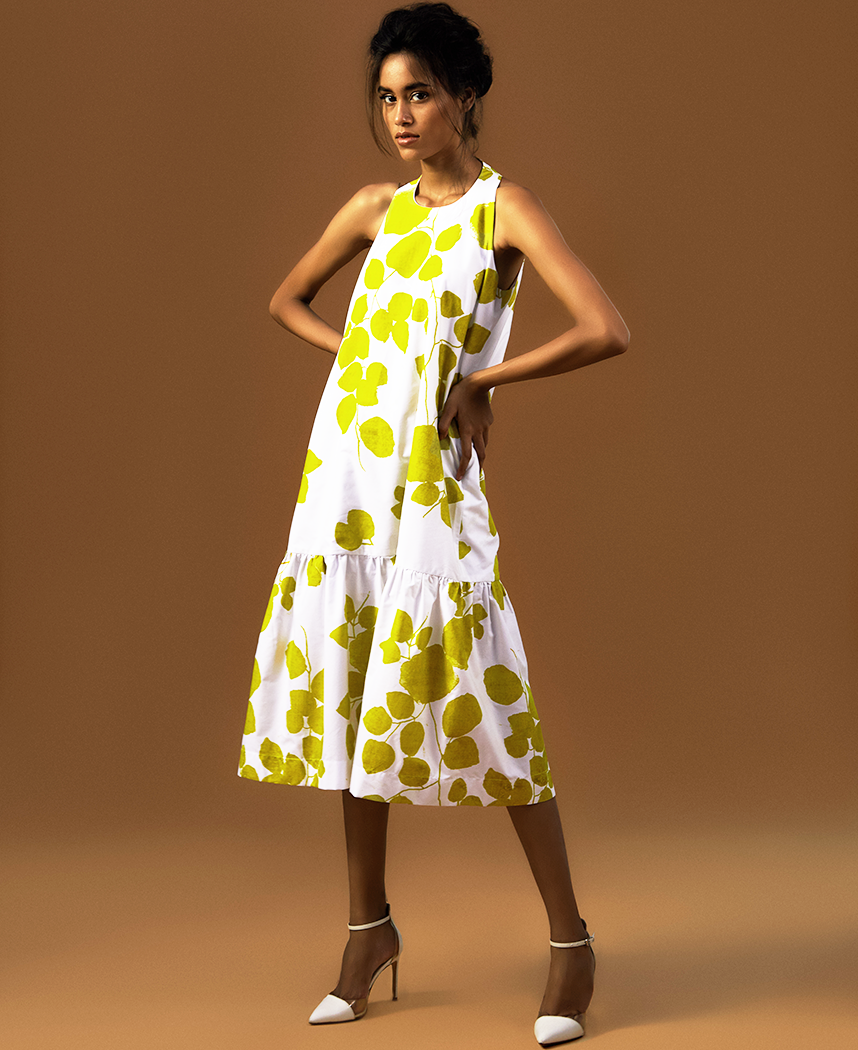 Leaf Gather Dress