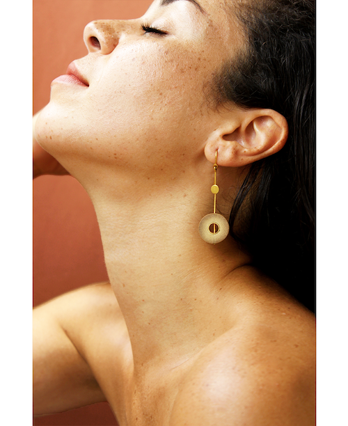 Rhea Gold Earrings