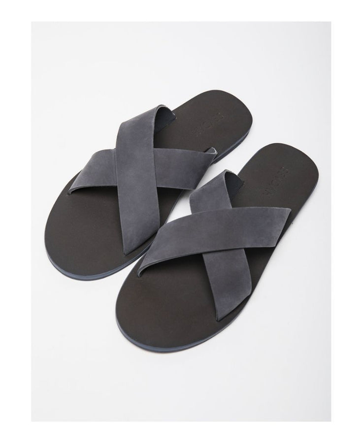 Theo Grey Sandals