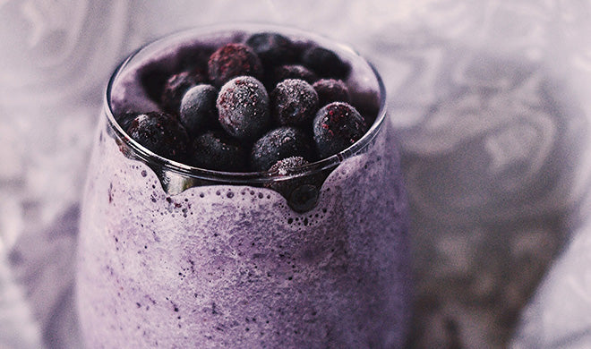 moody berry smoothie