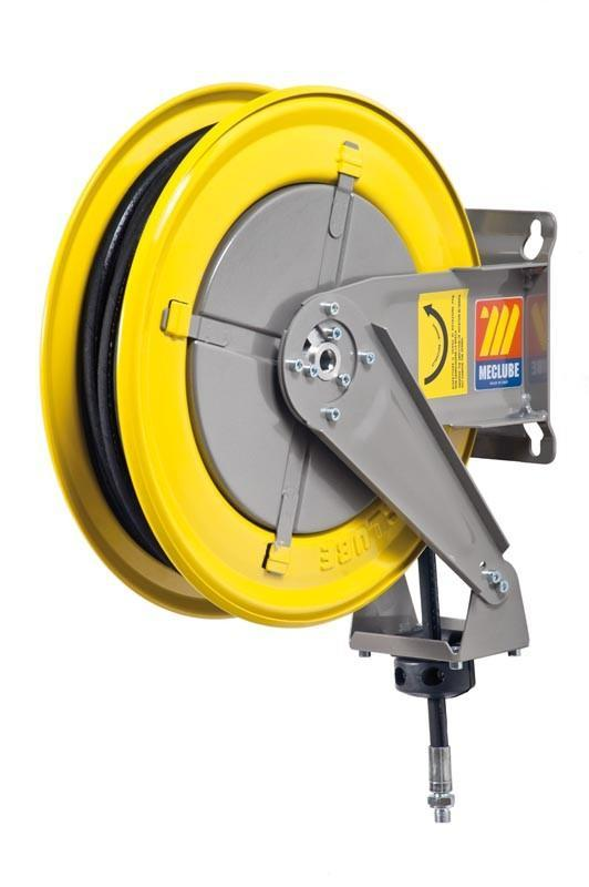 070-1202-410 - Hose reel fixed for air-water 20 bar Mod. F-400 with hose
