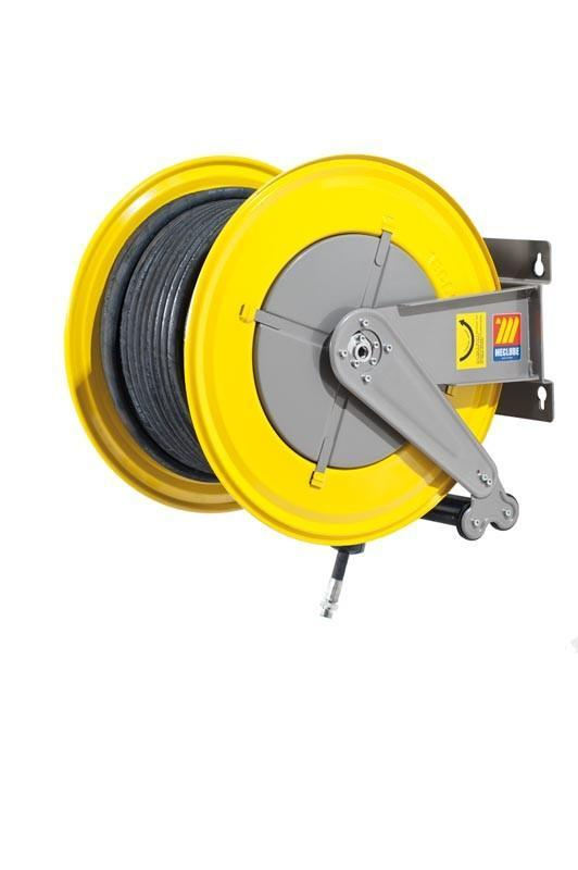 070-1602-540 - Hose reel fixed for air-water 20 bar Mod. F-560 with hose
