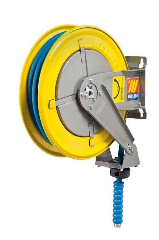 070-1204-410 - Hose reel fixed for water 150° C 200 bar Mod. F-400 with hose