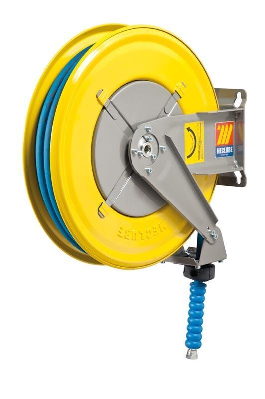 070-1304-318 - Hose reel fixed for water 150° C 200 bar Mod. F-460 with hose