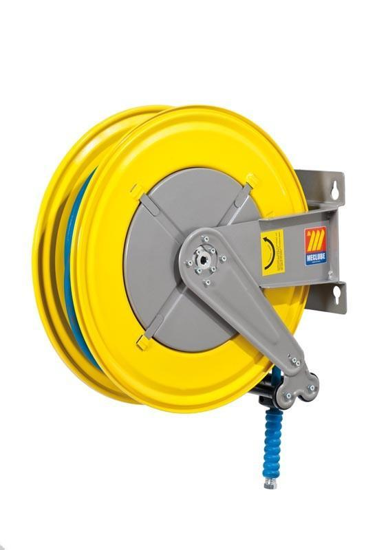 070-1404-320 - Hose reel fixed for water 150° C 200 bar Mod. F-550 with hose